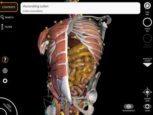 Anatomy 3D Atlas 16 تصوير الشاشة