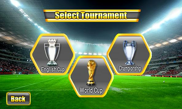 Soccer World Cup 2014 screenshot 3