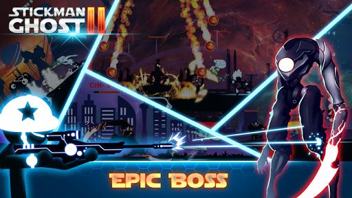 Stickman Ghost 2: Galaxy Wars - Shadow Action RPG screenshot 2