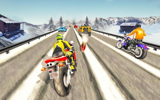 Bike Attack Race : Highway Tricky Stunt Rider screenshot 5