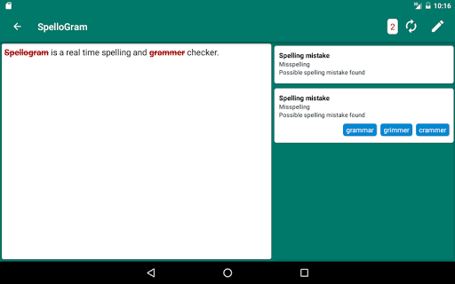 Simple Grammar & Spell Check screenshot 8
