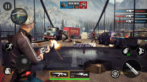 FPS Encounter Strike 2020: New Gun Shooting Games screenshot 3