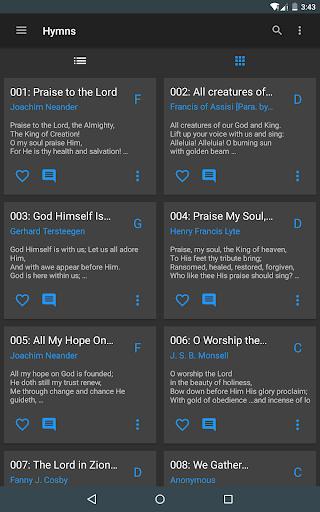 SDA Hymnal 9 تصوير الشاشة