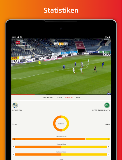 SRF Sport - News, Livestreams, Resultate screenshot 10