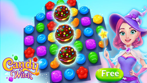 Candy Witch - Match 3 Puzzle Free Games screenshot 7