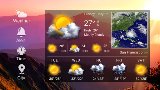 Z Style Weather Widget 13 تصوير الشاشة