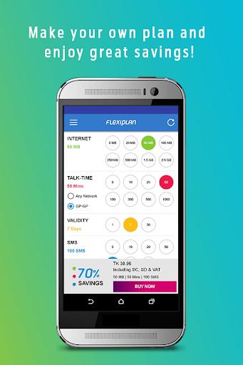 FlexiPlan screenshot 2