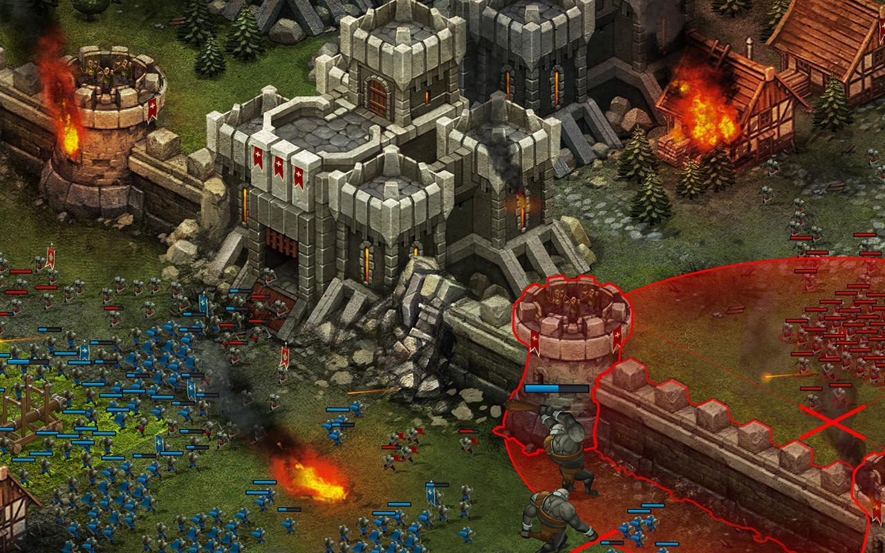 Throne Rush for Kakao screenshot 2