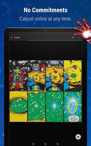 Marvel Unlimited 15 تصوير الشاشة