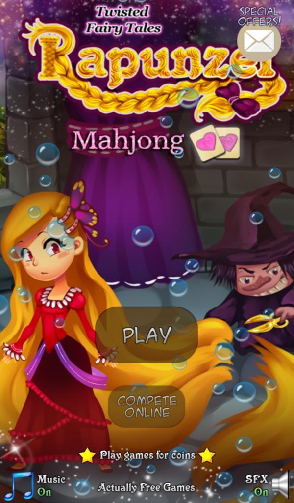 Hidden Mahjong: Rapunzel screenshot 2