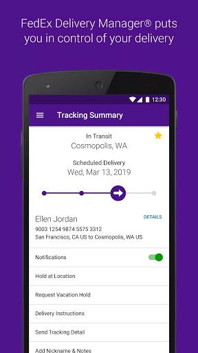 FedEx Mobile screenshot 3