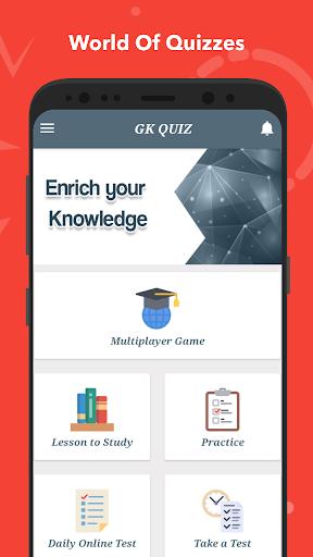 General Knowledge Quiz : World GK Quiz App स्क्रीनशॉट 2