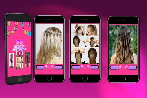 Hairstyles (Step by Step) screenshot 2