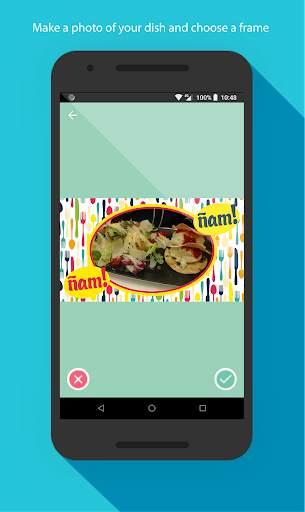 Food photo frames screenshot 2