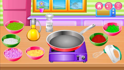Cooking in the Kitchen - Baking games for girls screenshot 1