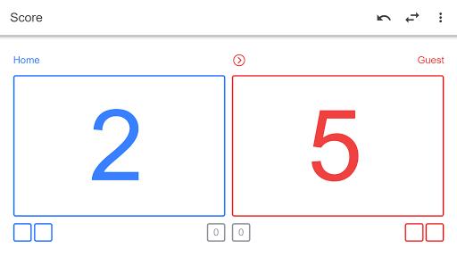 Volleyball Score Simple screenshot 2