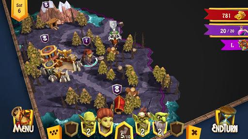 Heroes of Flatlandia - Turn based strategy screenshot 3