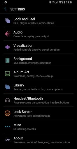 Poweramp Music Player (Trial) screenshot 8