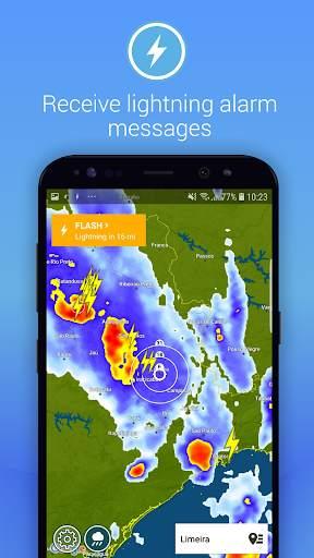 Lightning Alarm Weatherplaza screenshot 2