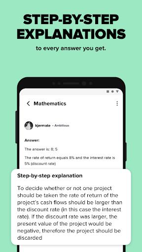 Brainly – Home Learning & Homework Help 3 تصوير الشاشة