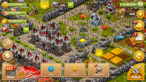 Throne Rush 16 تصوير الشاشة