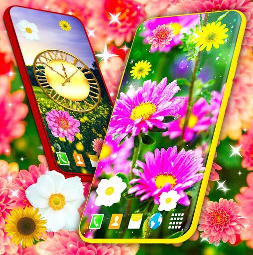 HD Summer Live Wallpaper 🌻 Flowers 4K Wallpapers screenshot 6