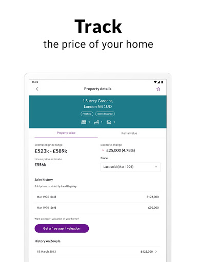 Zoopla property search UK Homes to buy and rent screenshot 12