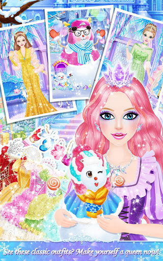 Princess Salon: Frozen Party screenshot 4