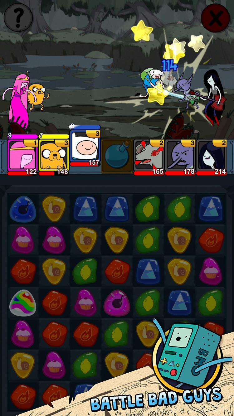 Adventure Time Puzzle Quest 12 تصوير الشاشة