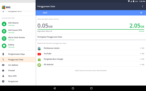 AVG Antivirus Gratis – Pembersih virus Android screenshot 14