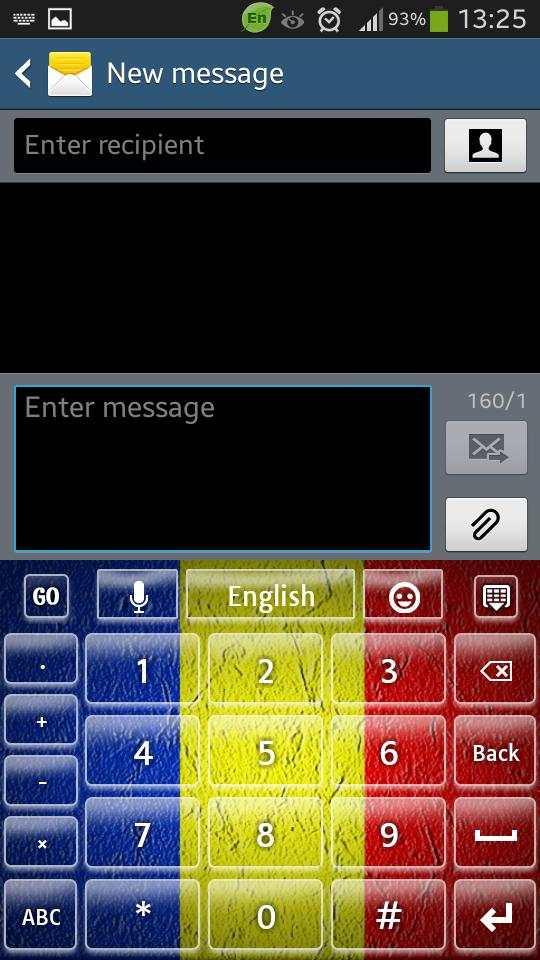 Romania Keyboard screenshot 5