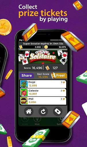 Solitaire - Make Free Money and Play the Card Game screenshot 3