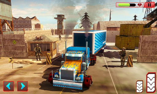 Grand Police Truck Robot War Transform Robot Games screenshot 2