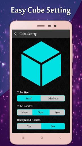 3D Multi Cube Live wallpaper- Love Cube LWP screenshot 8