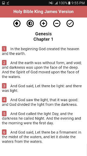 Holy Bible King James Version (Free) screenshot 4