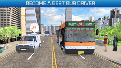 Gas Station Bus Driving Games - New Games 2020 screenshot 4