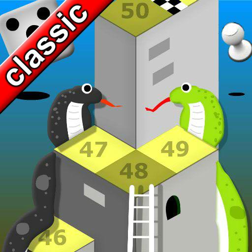 Mega Snakes and Ladder Battle Saga board game 2019 icon