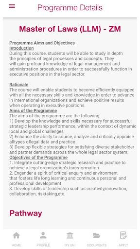 Unicaf | UK University Degree Scholarships screenshot 8