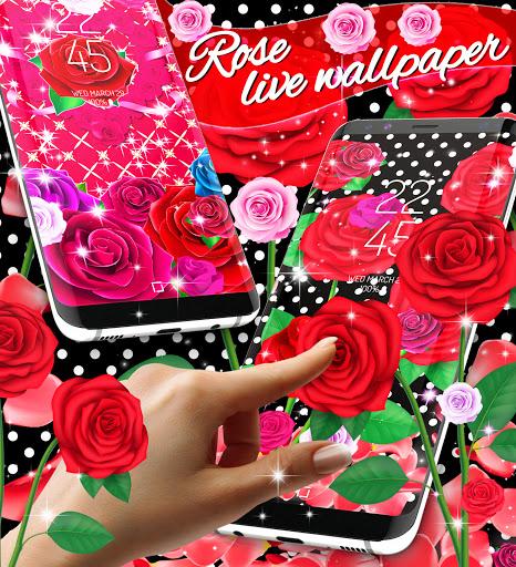 2021 Roses live wallpaper screenshot 2