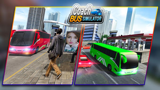 Bus Games - Coach Bus Simulator 2020, Free Games screenshot 5