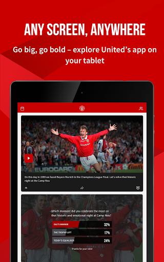 Manchester United Official App 7 تصوير الشاشة