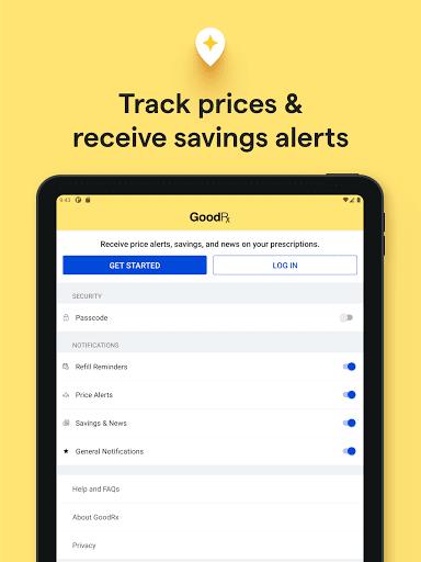 GoodRx: Prescription Drugs Discounts & Coupons App 14 تصوير الشاشة