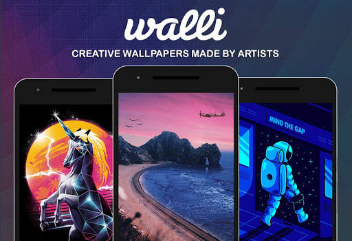 Walli - 4K, HD Wallpapers & Backgrounds screenshot 2