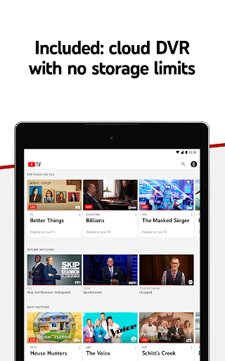 YouTube TV - Watch & Record Live TV screenshot 9