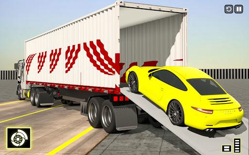 Crazy Car Transport Truck:New Offroad Driving Game screenshot 5