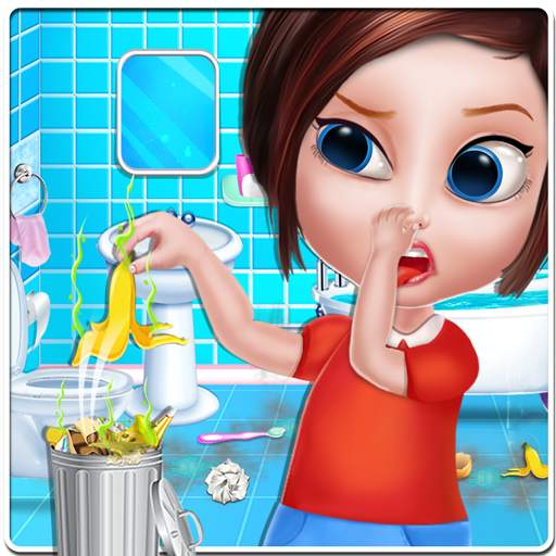House Cleaning - Home Cleanup Girls Game