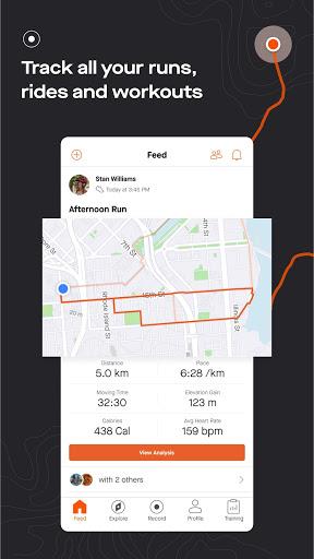 Strava: Track Running, Cycling & Swimming screenshot 1