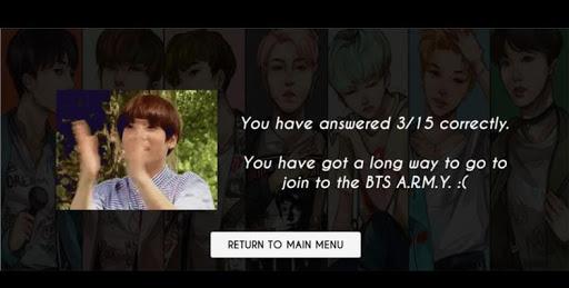 BTS ARMY فان مسابقة 6 تصوير الشاشة