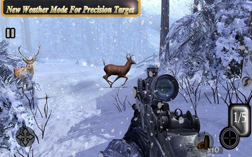 Sniper Animal Shooting 3D:Wild Animal Hunting Game screenshot 5