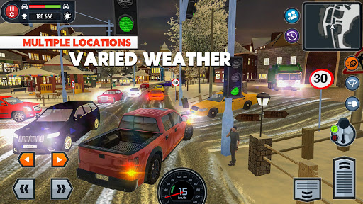 🚓🚦Car Driving School Simulator 🚕🚸 screenshot 4